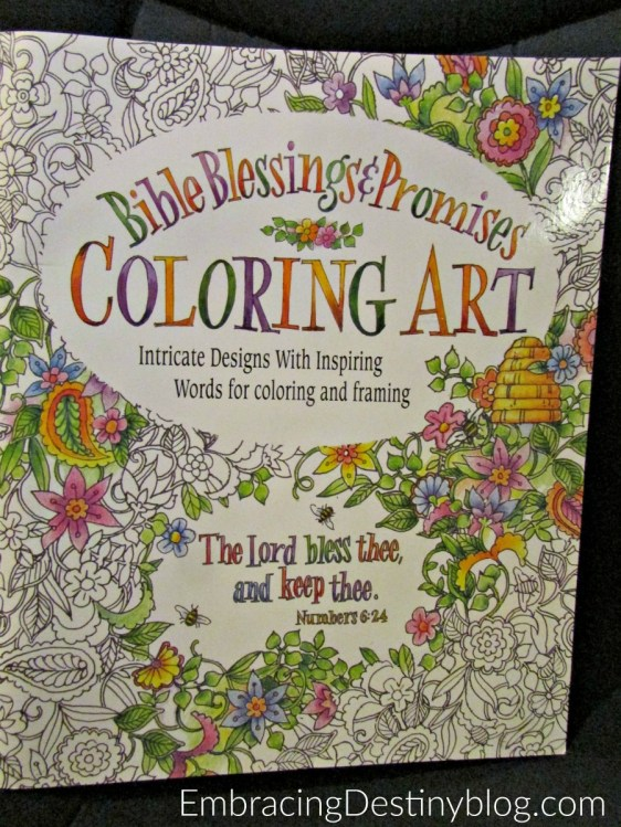This Bible Blessings & Promises coloring book is one of my favorites! embracingdestinyblog.com