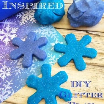 Frozen Inspired DIY Play Dough
