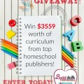 Enter this giveaway for homeschool curriculum, get a coupon code, save money on your homeschool resources. Awesome! Build Your Bundle 2016.