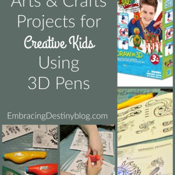 Arts and Crafts with 3D Pens for Kids