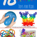 10 Sensory Toys for Kids: help with focus, special needs, autism, fidgets for homeschooling concentration, ADHD, etc. embracingdestinyblog.com