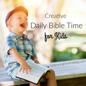 Creative Bible Time for Kids