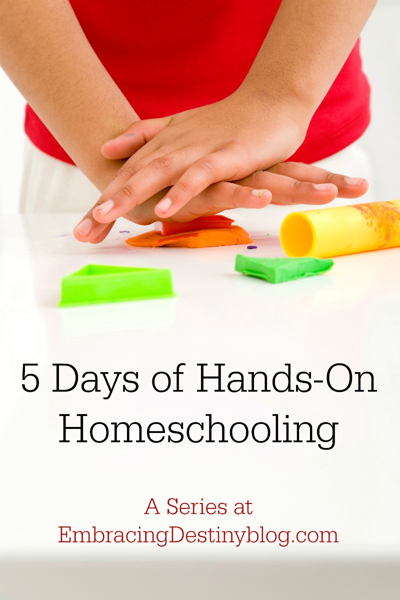 Hands-on homeschooling series features projects and ideas for hands-on learning.