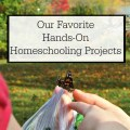 Inject some fun learning into your homeschool with these hands-on homeschooling projects we've done and loved! Homeschooling ideas and inspiration.