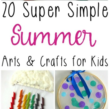 Summer Arts and Crafts For Kids