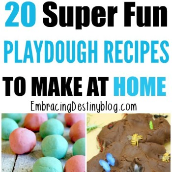 20+ Tried and True Homemade Play Dough Recipes