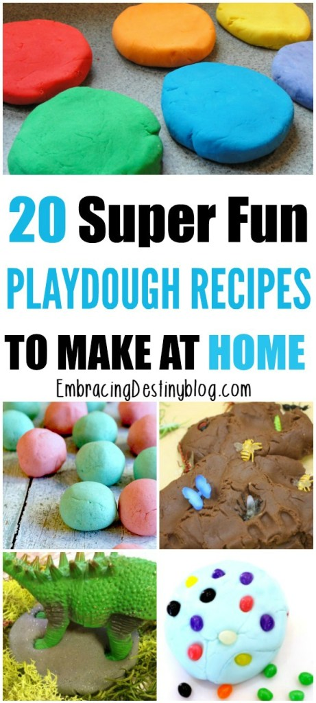 Try these fun and creative homemade play dough recipes to keep the kids busy with hands-on learning!