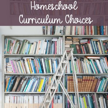 Our Delight-Directed, Literature-Rich Homeschool Curriculum Choices