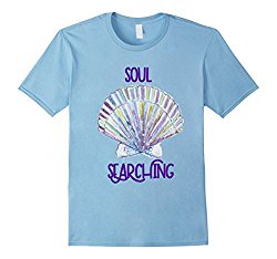 Soul Searching seashell tshirt