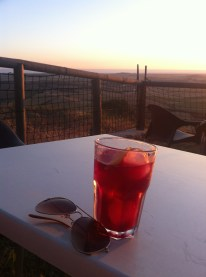 A tinto and a view