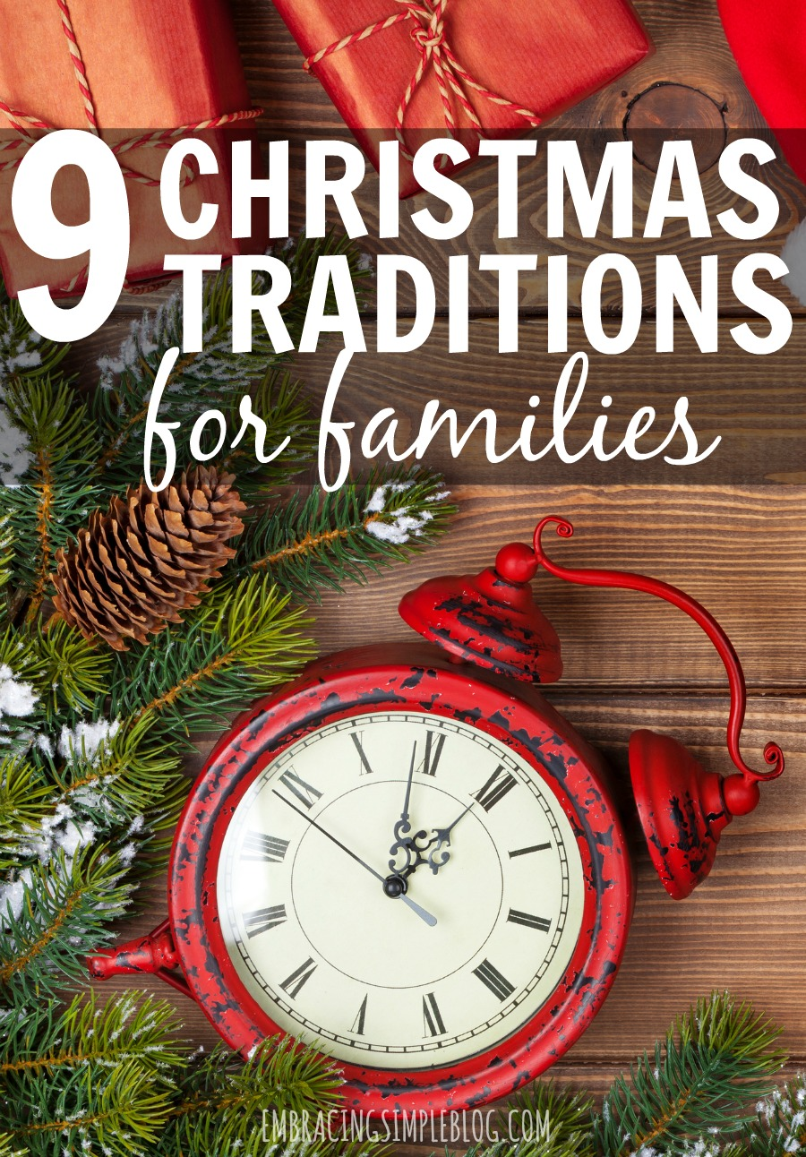 9 fun christmas traditions
