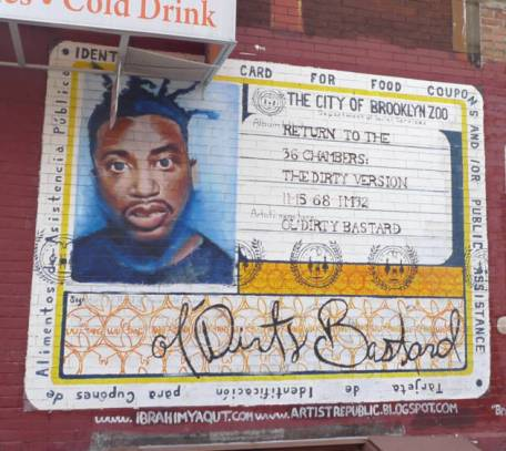 Mural of Ol' Dirty Bastard