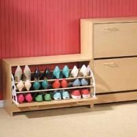 Organize os seus calçados em sapateiras