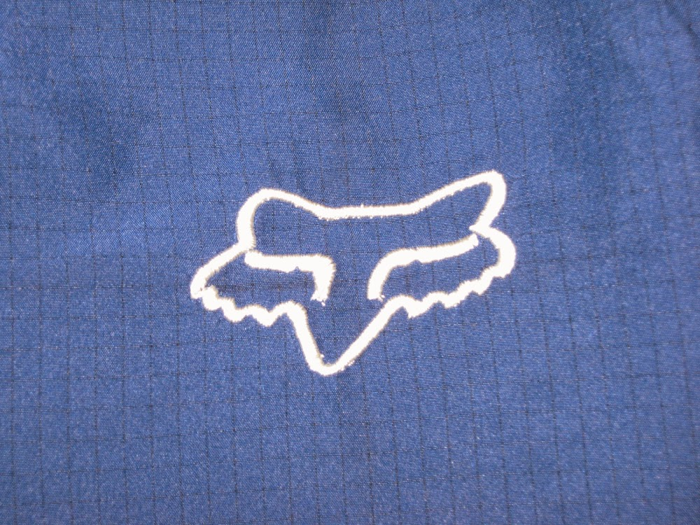 fox racing logo embroidery