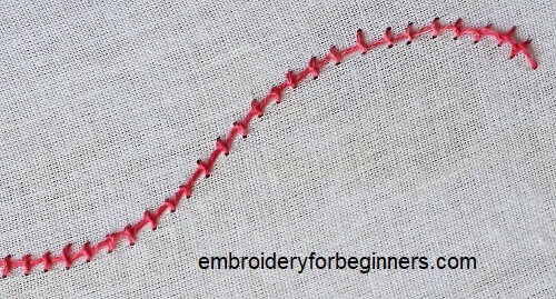 pearl knot stitch