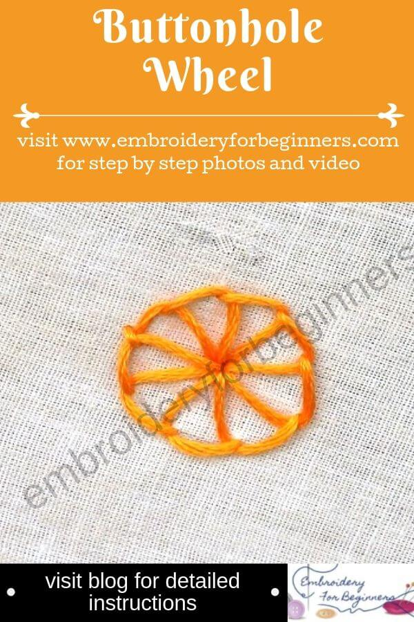 visit blog for detailed instructions for working the buttonhole wheel