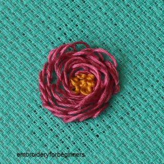 looped blanket stitch