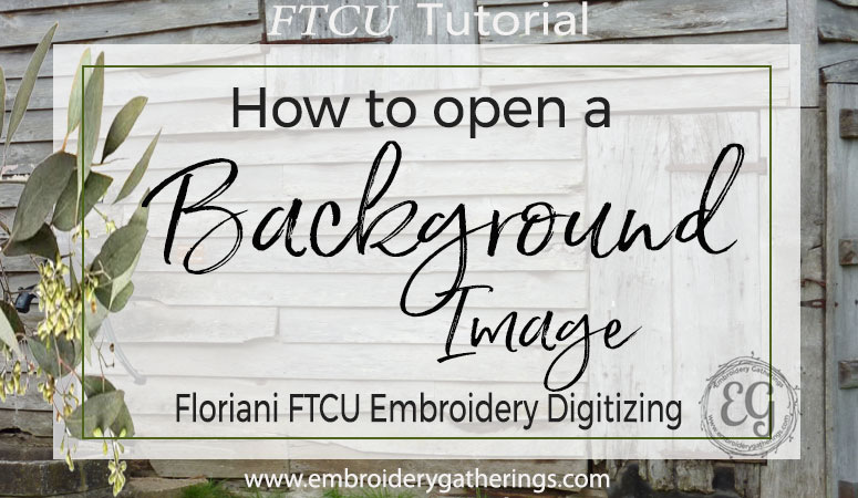 Learn to digitize embroidery designs with Floriani FTCU. Download this FREE tutorial at: www.embroiderygatherings.com.