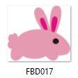 appllique rabbit