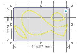 silhouette - trace area