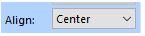 FTCU text alignment box