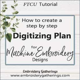 Creating a Digitizing Plan