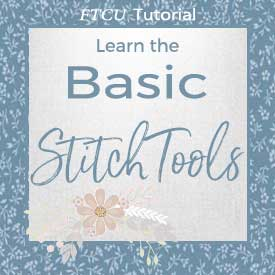 step-two basic FTCU stitch tutorials
