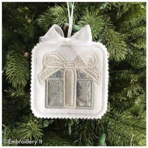 Machine Embroidery Christmas Ornaments In The Hoop