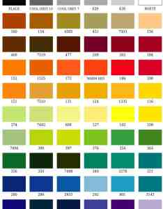 Pms color chart also embroidery unlimited rh embroideryunl