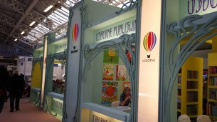 Osbourne Publishing's beautiful stand