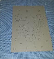 Rudolf design ready for cutting!