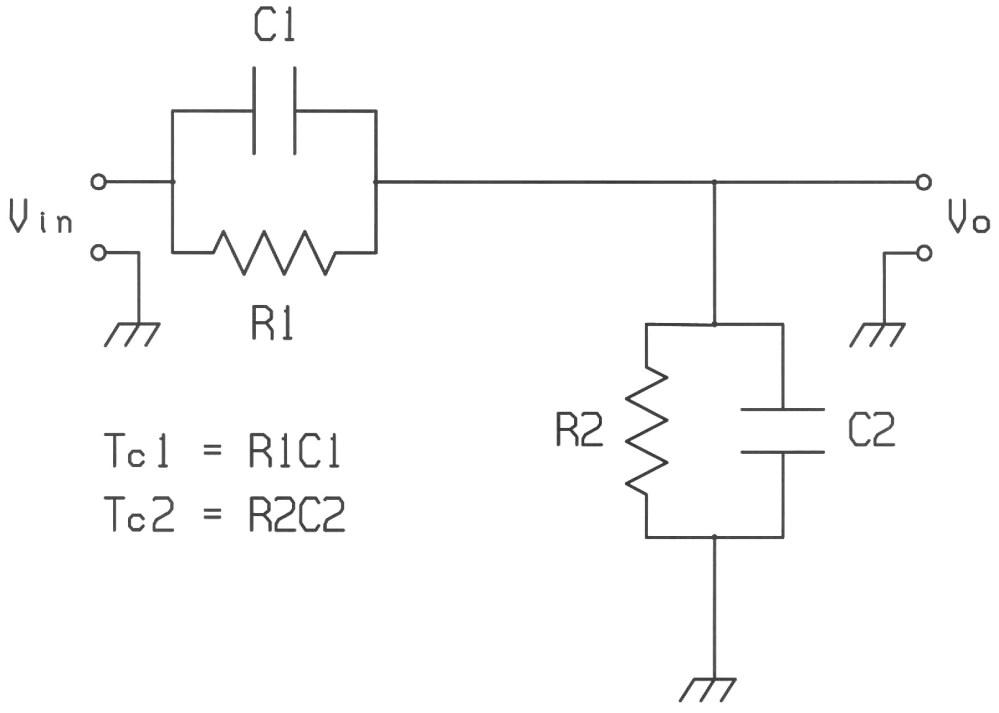medium resolution of rc voltage divider