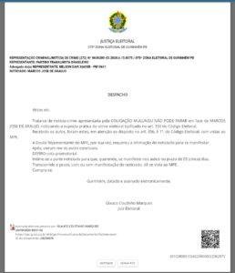 PHOTO 2020 11 02 21 27 12 258x300 - Candidato a prefeito de Mulungu é acusado de fraudar histórico escolar para disputar as eleições