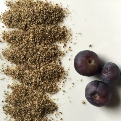 Chia seeds & blueberries