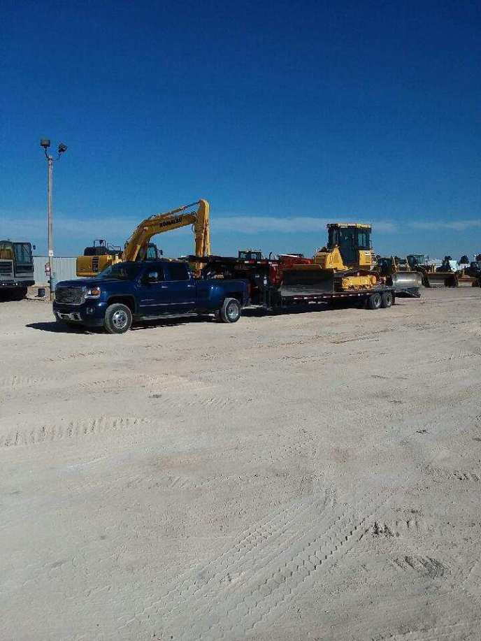 Hot shot service by Emco Oilfield Services