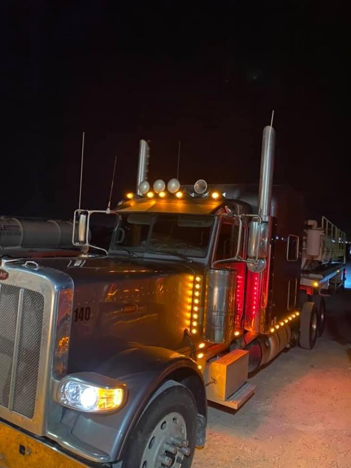 permian basin emco oilfield services diesel truck