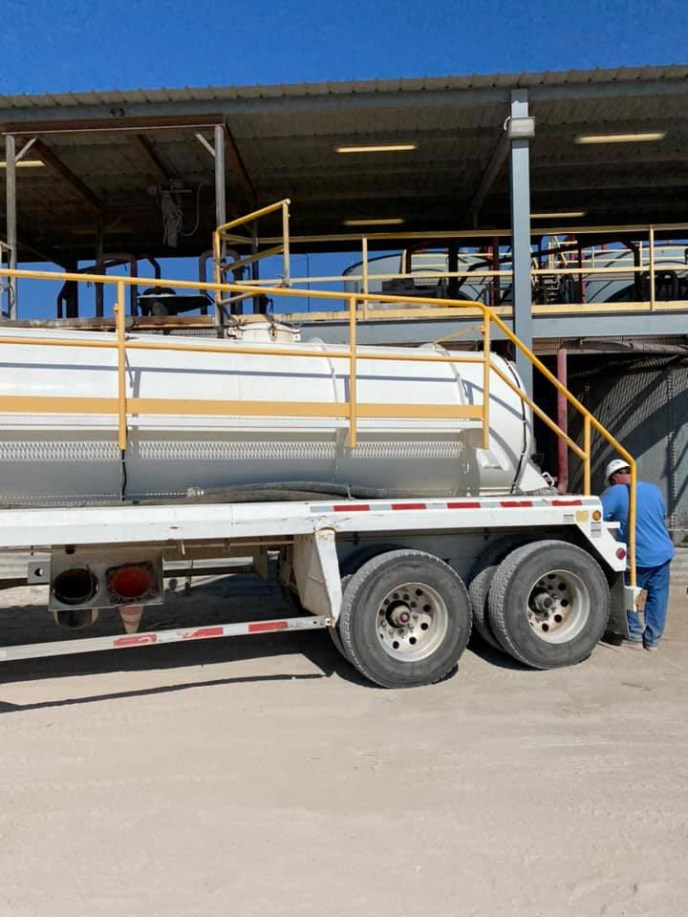 Water Trucks available through Emco Oilfield Services