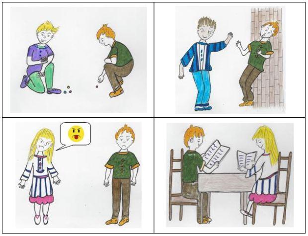 dessins harcèlement
