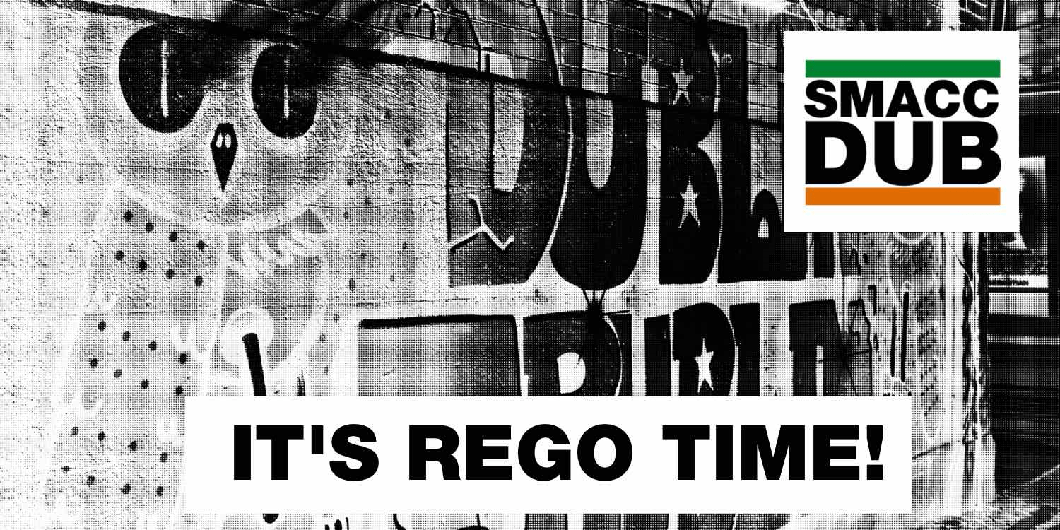 ITS REGO TIME