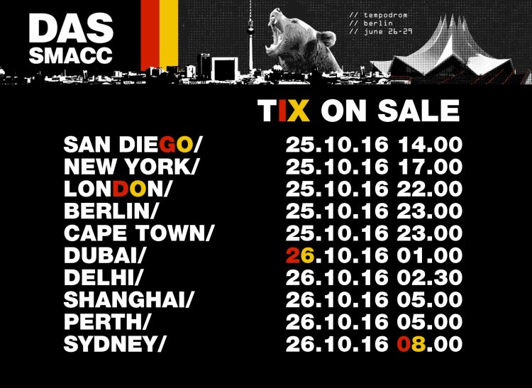 das-smacc-tix-schedule-oct