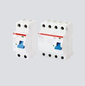 abb modular din rail switches