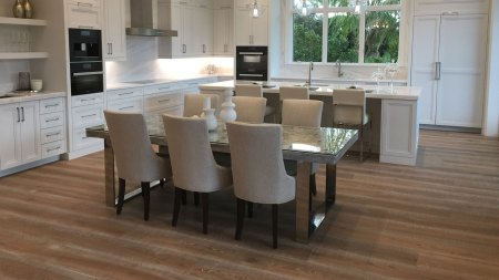 kitchen hardwood floor installation