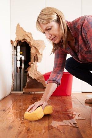 water damage repair for hardwood floor