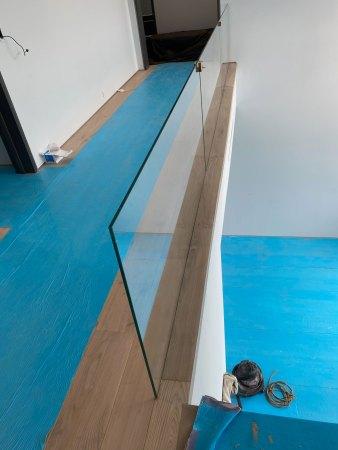 Custom nosing flooring installation