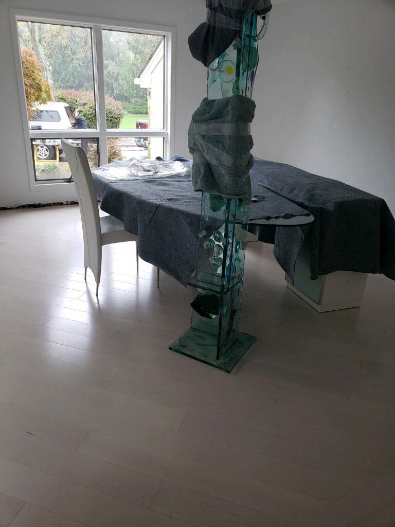 Hardwood flooring installation in St. James