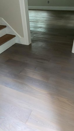 select white oak with stain