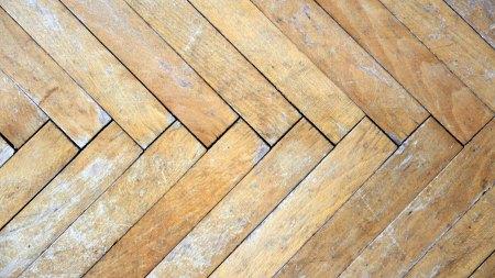 damaged floor boards