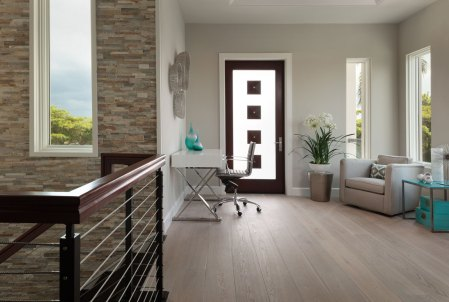 satin hardwood flooring