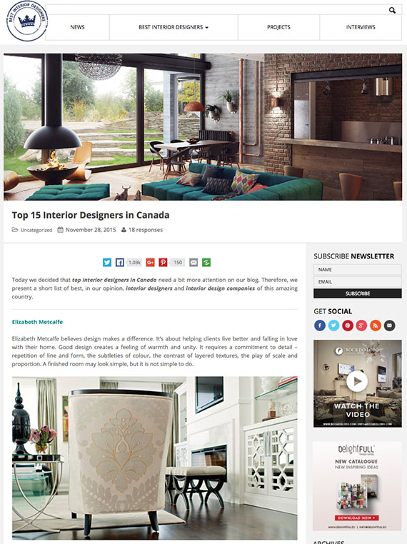 Canadian Bloggers Home Tour Our House A Pop Of Pretty Blog Design Canada