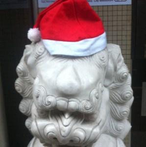 lion santa